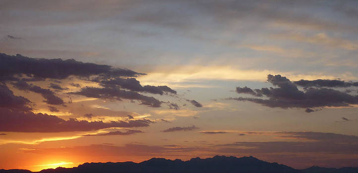 New Mexico Sunset by Thomas  MacPherson Jr