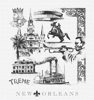 New Orleans by Alonzo Butler