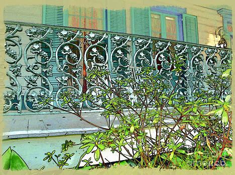 Joan  Minchak - New Orleans Porch Railing
