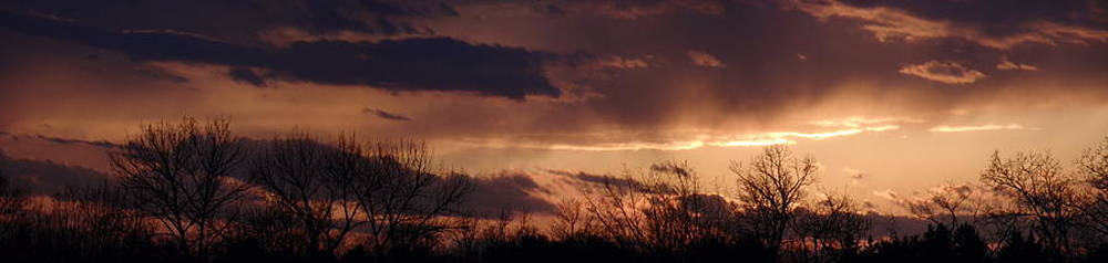 New Year's Day Sunset Panoramic by Ivana Smiljanec