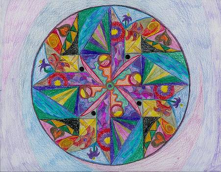 New Year's Mandala by Aileen Heymach