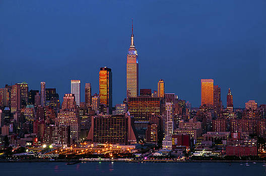 Regina Geoghan - New York at Twilight Time