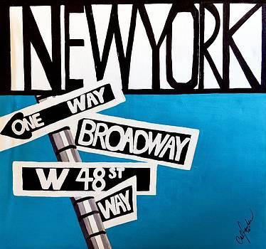 New York by Cat Jackson
