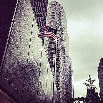 New York City- Flag by Lauren Smith