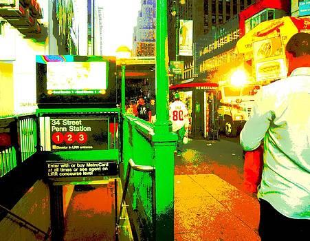 New York City Subway Station by Don Struke