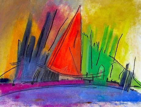 New York Harbor by Simi Berman