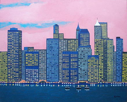 New York New York by Eamon Reilly
