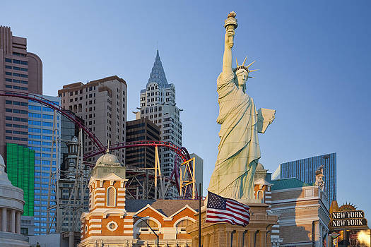 New York New York Hotel And Casino Las by Bryan Mullennix