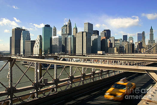 New York Skyline by Matt Tilghman