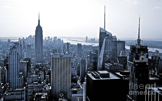 New York Skyline by Thomas Splietker