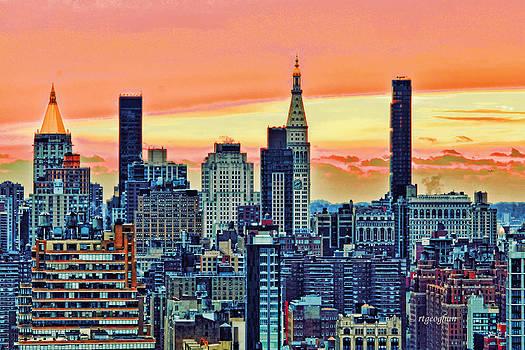 Regina Geoghan - New York Sunrise II