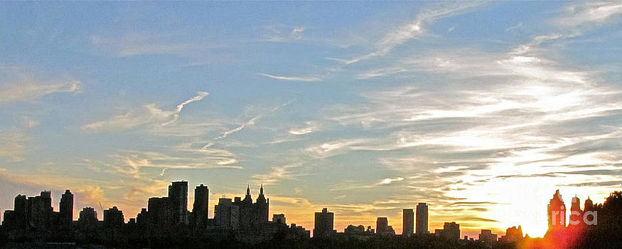 New York Sunset 2 by Randi Shenkman