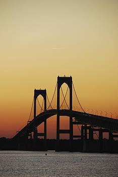 Newport Bridge by Ryan Louis Maccione