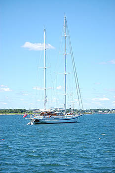 Newport RI Summer Day II by Mary McAvoy