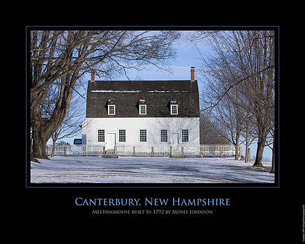 NH Meetinghouse by Jim McDonald Photography