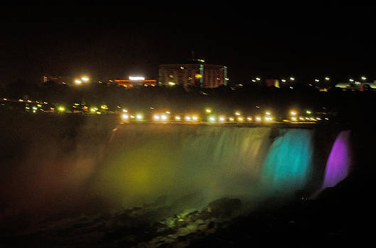 Niagara fall colors by Cheryl Cencich