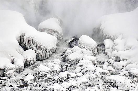 Niagara Falls Frozen Abstract 1 by J R Baldini Master Photographer