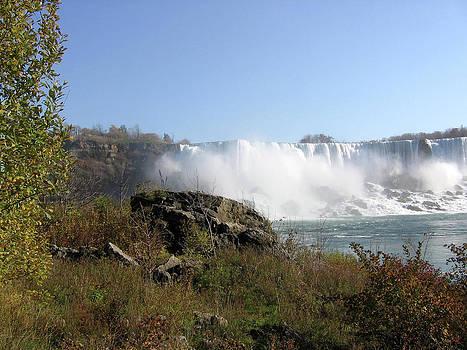 Niagara Falls in November by J R Baldini M Photog Cr