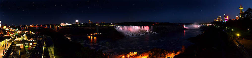 Niagara Falls Panoramic by Rafay Zafer