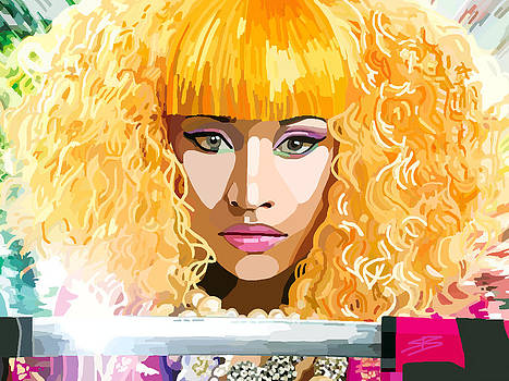 Nicki Minaj by Siobhan Bevans
