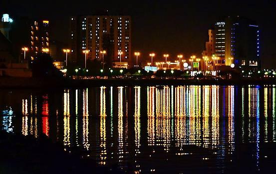 Night City Lights by Ahmed Moustafa