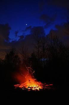Night Fire by Jeff Moose