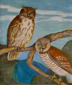 Night Hunters by Joan Landry