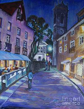 night in Sintra by Efim Melnik