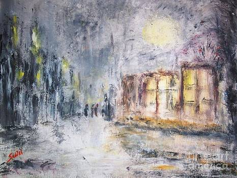Night in the Suburb by Mary Sedici
