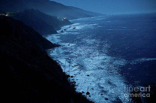 Night Magic In Big Sur by Rossi Love
