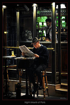 Night Street of Paris by Viktor Korostynski