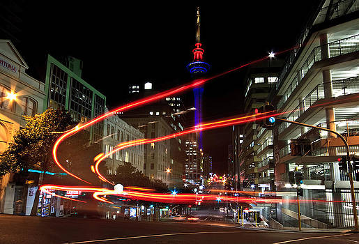 Night Traffic by Chris Gin