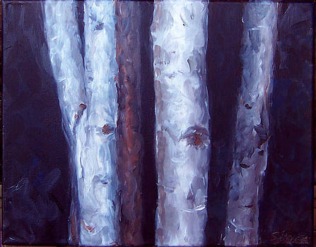 Night Trees by Susan Moore