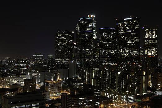 Night View of LA by Vanessa Espinoza