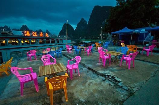 Nightlife of chairs by Mihail Bidnichenko