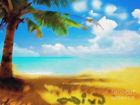 Nixo landscape beach by Nicholas Nixo