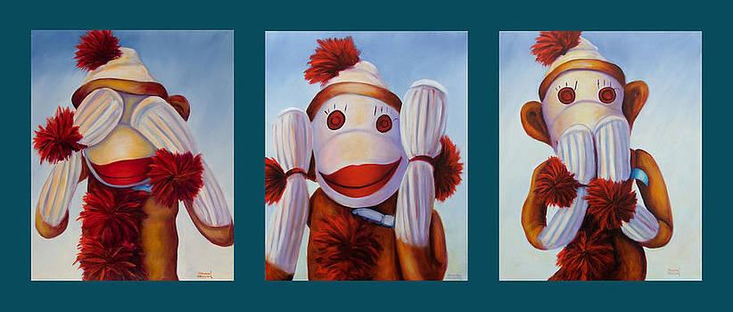 Shannon Grissom - No Bad Stuff Triptych