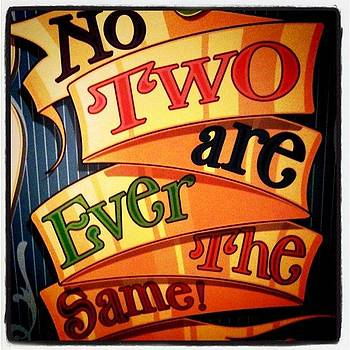 No Two are Ever the Same by Jaye Howard