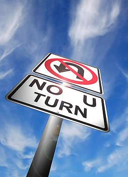 No U Turn by Michael Welch
