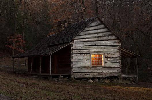 Noah Bud Ogles Cabin by Larry Lynch
