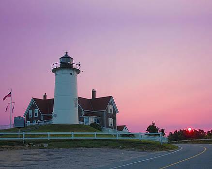 Nobska Lighthouse  by John  Sweeney