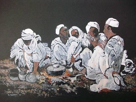 Nomad dinner by Samir Sokhn