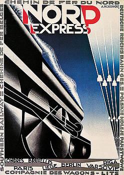 A M Cassandre - Nord Express