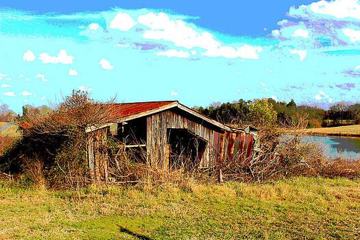 North Carolina Blue And ME by Bob Whitt