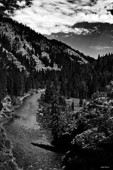 North Fork Coeur d'Alene River by Joseph Noonan