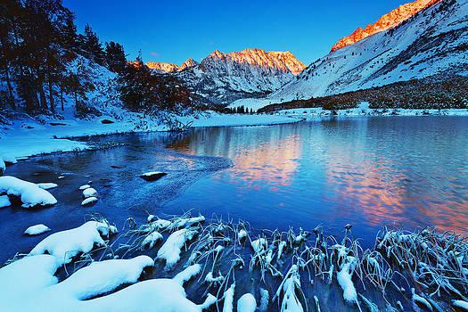 North Lake Snow by Nolan Nitschke