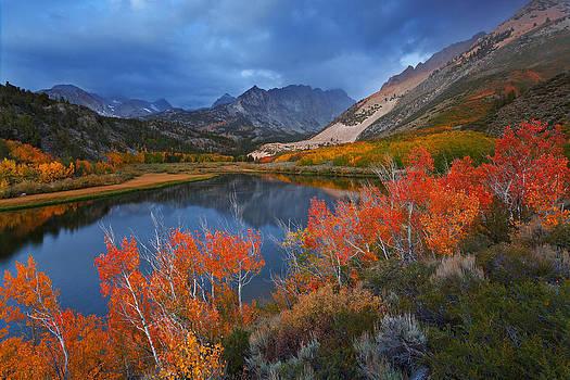 North Lake Storm by Nolan Nitschke