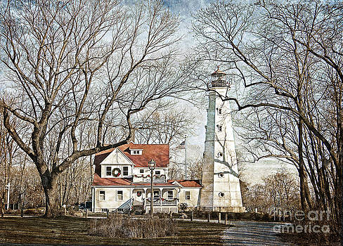 North Point Lighthouse II by Maria Aiello