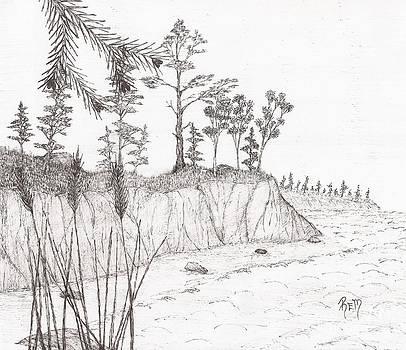 North Shore Memory... - Sketch by Robert Meszaros