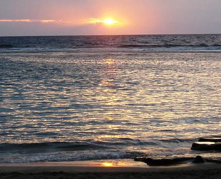 North Shore Sunset by Sharon Farris